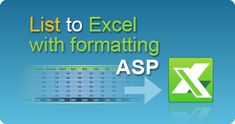 Export List to Excel file in ASP classic with cell formatting by EasyXLS! XLSX, XLSM, XLSB, XLS spreadsheets in ASP classic. #EasyXLS #Export #List #Excel #Formatting #ASP Files In C, Excel Tips, Php Tutorial, Budget Spreadsheet, Excel Budget, Dashboard Design, User Interface Design, Budgeting, Coding