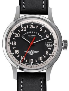 df750696053e Sturmanskie Open Space 24-Hour Time Automatic Watch with 42mm Titanium Case   1767937