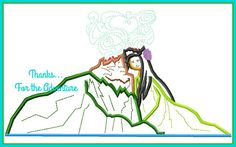 Lava Volcanoes Pixar Short Digital Embroidery Machine Applique Design File 6x10 8x14 by Thanks4TheAdventure on Etsy