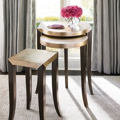 Luxury Nesting Tables   #nestingsidetables side tables #moderndesign living room design #modernlivingroom the living room . Visit our blog www.coffeeandsidetables.com