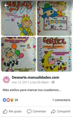 Page Borders Design, Border Design, Baby Girl Cards, Stories For Kids, Digital Stamps, Paper Piecing, Back To School, Doodles, Notebook