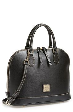 Dooney & Bourke Saffiano Leather Satchel | Nordstrom