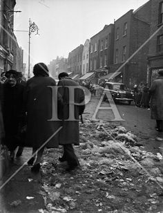 Dublin Corporation Workers Strike - dustbins unemptied and streets unswept . History Photos, Photo Archive, More Photos, Dublin, Ireland, Irish, Fine Art, Film, Street