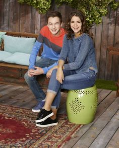 Maia Mitchel and Hayden Byerly on 'The Fosters'