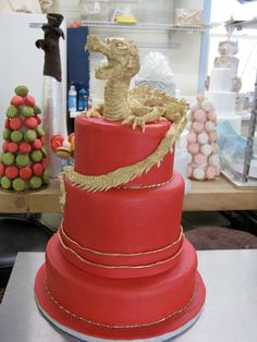 Definitely an Asian wedding cake.