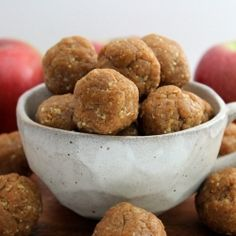 Raw Apple Pie Bites