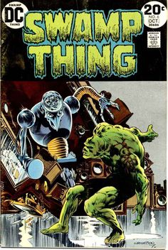 Swamp Thing #6 - Wrightson