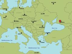 A Geography lesson on Sochi...