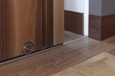 Close-up Bod'or KTM door - Design by Marcel Wolterinck - Residential - Door: La Ligne with Sliding FW