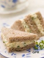 Deviled Egg Tea Sandwiches Recipe