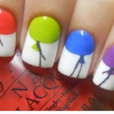 i would like to try this really cute nail art