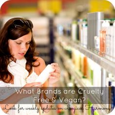 The Cruelty-Free & Vegan Brands list on Logical Harmony is the best source for finding out which brands are truly cruelty-free!