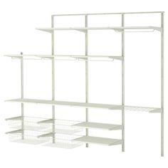 ALGOT Wall upright/shelves/pants hanger - IKEA I need this