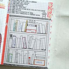 Bullet Journal - ibrary. book to read and books already read #bulletjournal #bulletjournaling #                                                                                                                                                   More