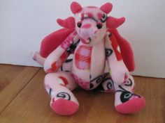 Fleece dragon. $50.00, via Etsy.