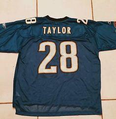 b95b25be4 Vintage REEBOK Jacksonville Jaguars Fred Taylor NFL Jersey Men s XL