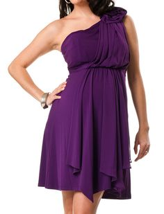 A Pea in the Pod Collection: Max and Cleo Sleeveless Rosette Details Maternity Dress Maternity Bridesmaid Dresses, Bridesmaid Dresses Plus Size, Bridesmaids, Formal Evening Dresses, Formal Gowns, Fashion Wear, Fashion Outfits, Dress Skirt, Dress Up