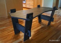 Carbon Coffee Table by Silekahome on Etsy. , via Etsy.