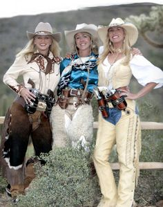 ♥ Cowgirls American Country