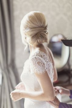 <div>This traditionally romantic 'do also gets a dose of retro appeal from some major volume at the crown.</div>
