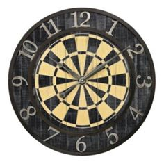 Sterling Dartboard Wall Clock