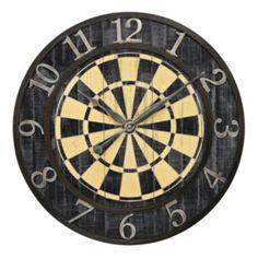 Sterling Dartboard Wall Clock
