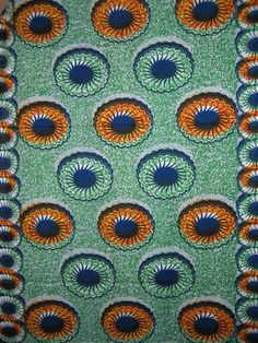 African Textile Holland - Donut print love it!