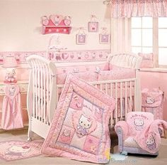 [ • Hello Kitty - Sanrio - nursery • ]