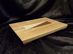 Ash Cutting Board w/ Feet by DPcustoms on Etsy