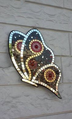red butterfly mosaic bow tie VENICE but rest schmetterling Red butterfly mosaic papillon VENEZIA mariposa schmetterling Mosaic Tile Art, Mosaic Artwork, Mosaic Diy, Mosaic Crafts, Mosaic Glass, Glass Art, Mosaics, Butterfly Mosaic, Mosaic Birds