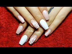 Nailed It, Purple Nails, Christmas Nails, Acrylic Nails, Nail Art, Youtube, Beauty, Purple Nail, Christmas Manicure