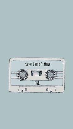 Guns N Roses, Sweet Child O' Mine, Apettite For Destruction🎸 Guns N Roses, Rose Wallpaper, Wallpaper Quotes, Homescreen Wallpaper, Iphone Wallpaper, Roses Lyrics, Drawing Now, Sweet Child O' Mine, Rock A Bye Baby