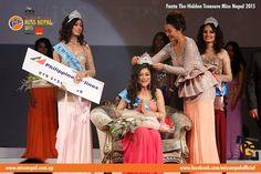 Miss Nepal 2015 Evana Manandhar crowning