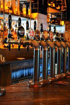 L'Estrange Designs | The Camden Exchange Bar Design / Restaurant Design / Interior / Dublin / Industrial / Beer Taps / Pipes