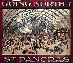 Railway poster