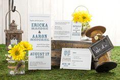 Be Merry - Tea-length Wedding Invitation by MagnetStreet