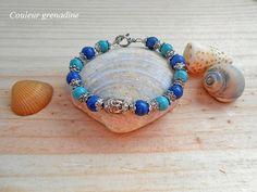 Bracelet zen tête de bouddha : Bracelet par couleur-grenadine33