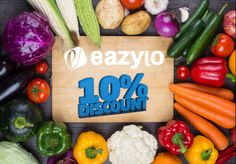 Buy Online Vegetables And Fruits and Get Up To 10% Discount At Eazylo.Com