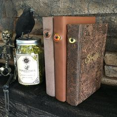 Spooky Halloween Decor // Eyeball Spell Book by CraftMenagerieCA