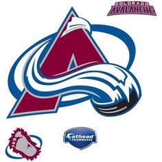 Fathead Colorado Avalanche Teammate Logo, Multicolor