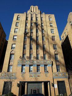Park Plaza Art Deco Apartments, Highbridge, Bronx, New York City