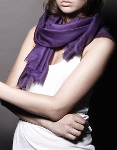 Ezma Souffle Stark Indigo Purple