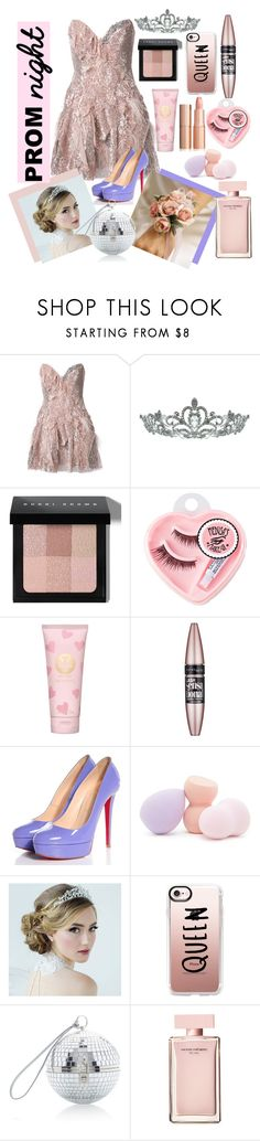 """Prom Queen"" by mydreamingcloset ❤ liked on Polyvore featuring Trash-Couture, Kate Marie, Bobbi Brown Cosmetics, Medusa's Makeup, Tory Burch, Maybelline, Christian Louboutin, Forever 21, Casetify and Dolce&Gabbana"