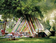 Ikea creates two diy tent ideas to try this summer either at the beach or a picn. Ikea creates two diy tent ideas to try this summer either at the beach or a picnic. Discover colorful, beautifully styled images of diy tents. Diy Zelt, Outdoor Dinner Parties, Outdoor Party Decor, Diy Party Tent, Backyard Decorations, Dinner Party Decorations, Picnic Parties, Festival Decorations, Garden Decoration Party