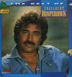 The best of Engelbert Humperdinck - LP cover
