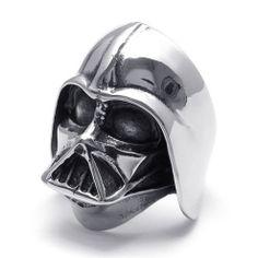 Anillo Darth Vader http://lobotomyshop.es/anillos/39-anillo-darth-vader.html