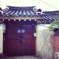 carrot_777 / #전라남도 #해남 #땅끝마을 #여행 #world #korea #haenam #travel #trip #tour #traditional #door #house #wall / 전라남 해남 / #골목 #문 / 2012 07 21 /