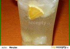 Osvěžující limonáda recept - ananas(kompot),pomeranč limetka