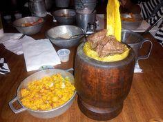 Carne Mofongo at Raices Restaurant, San Juan Puerto Rico
