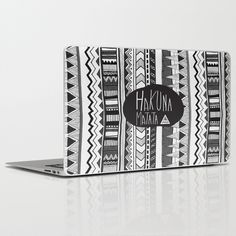Buy HAKUNA MATATA  by Vasare Nar as a high quality Laptop & iPad Skin. Worldwide shipping available at Society6.com. Just one of millions of products available.
